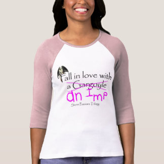 Fall in Love with an Imp Pink T-Shirt