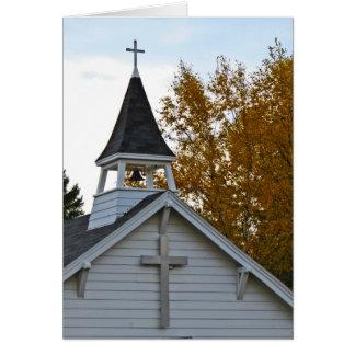 Fall in Minnesota-Church Card