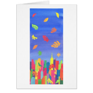 Fall in NYC Greeting Card