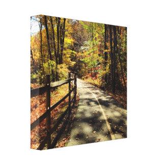 Fall in Rhode Island Canvas Print