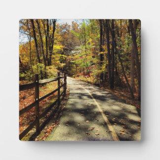 Fall in Rhode Island Plaque