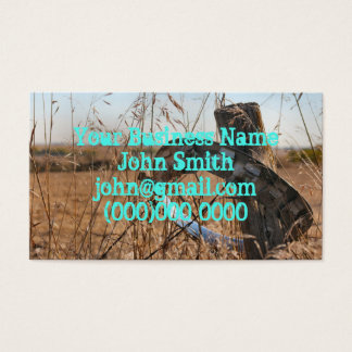 Fall in the heartland business card