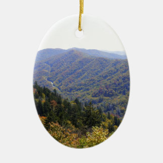 Fall in the Smoky s Christmas Ornament