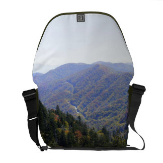 Fall in the Smokys Messenger Bags