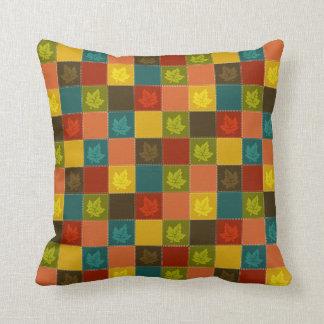 Fall into Color Throw Pillow