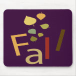 Fall is Falling Mouse Pads