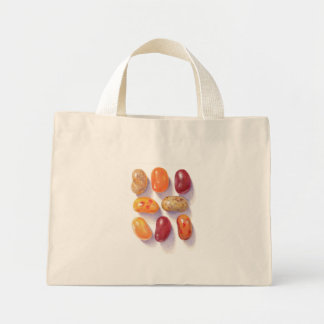 Fall Jelly Beans Natural Tiny Tote Bag