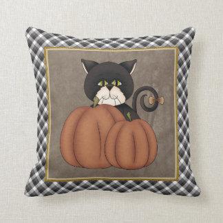 Fall Kitty pillow