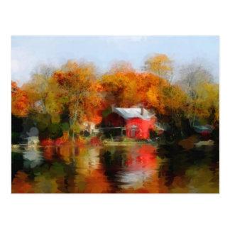Fall Lake Postcard