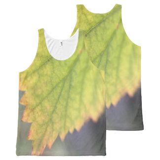 Fall Leaf All-Over Print Tank Top