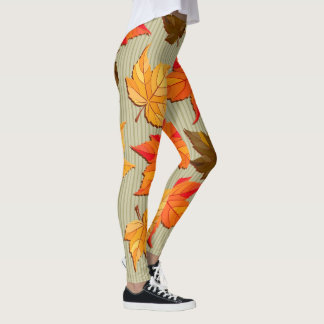 Fall Leaves (Autumn) Leggings