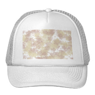 Fall Leaves Background Mesh Hats