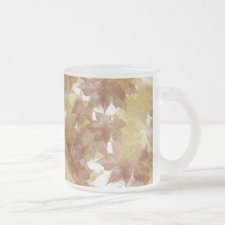 Fall Leaves Background Mug