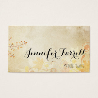 Fall LEaves Business Cards