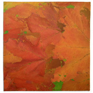 Fall Leaves Cloth Napkins