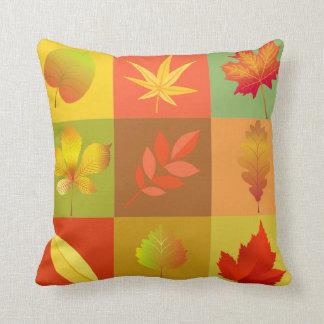 Fall Leaves Cushion