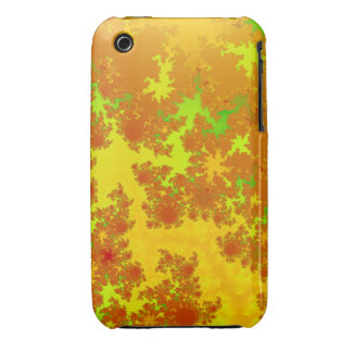 Fall Leaves Fractal. Decorative Abstract Art. iPhone 3 Case