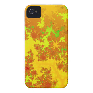 Fall Leaves Fractal. Decorative Abstract Art. iPhone 4 Case-Mate Case
