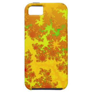 Fall Leaves Fractal. Decorative Abstract Art. Tough iPhone 5 Case