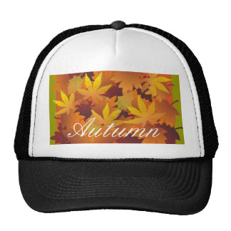 Fall leaves hat