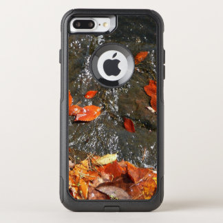 Fall Leaves in Waterfall I Autumn Photography OtterBox Commuter iPhone 8 Plus/7 Plus Case