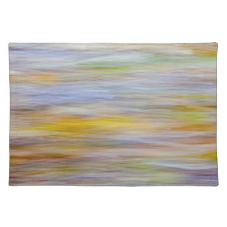 Fall leaves on Beach | Seabeck, WA Placemat