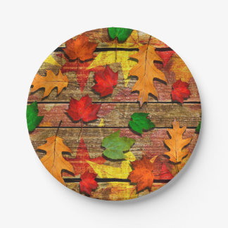 Fall Leaves Party Plates
