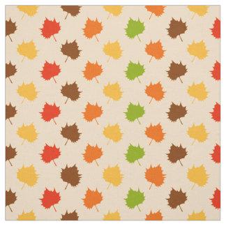 Fall Leaves, Rainbow Leaf Nature Fabric