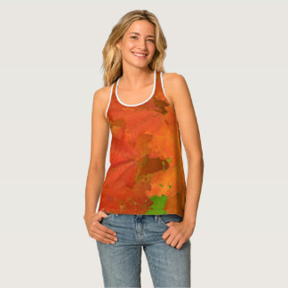 Fall Leaves Shirt Tank Top