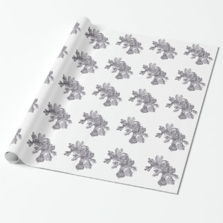 Fall Leaves with Acorns Wrapping Paper