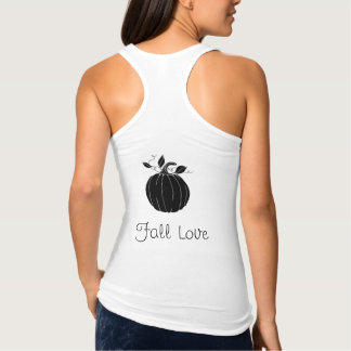 """Fall-Love_Slim-Fit-Woman's-Tank-Top"" Tank Top"