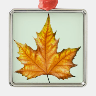 Fall Maple Leaf Christmas Ornament