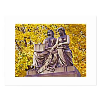 Fall Mourning our Beloved Postcard