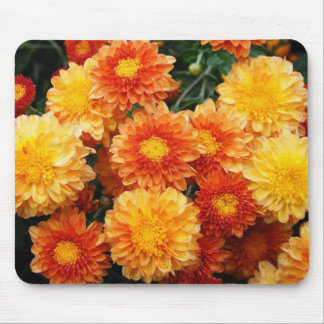 Fall Mums Mouse Pad