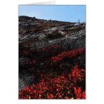 Fall NH Ridge Greeting Card