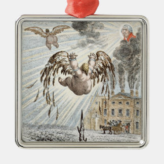 Fall of Icarus, 1807 Christmas Ornament