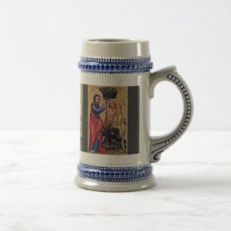 Fall Of Man  By Meister Bertram Von Minden (Best Q Coffee Mugs