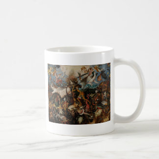 Fall of the Rebel Angels by Pieter Bruegel Basic White Mug