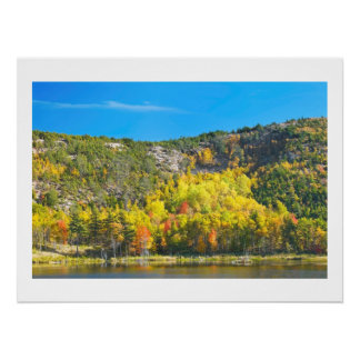 Fall On Beaver Dam Pond Acadia National Park Maine