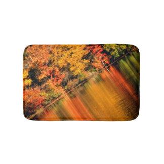 Fall on Hidden Lake Bath Mats