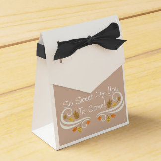 Fall Owl Baby Favor Boxes! Favour Box