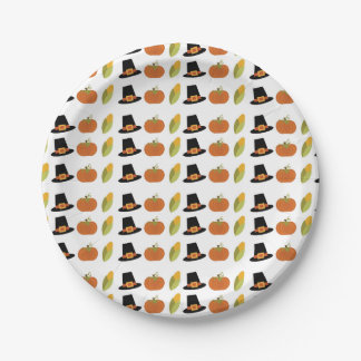 Fall Party Plates