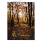Fall path1, We Remember Card