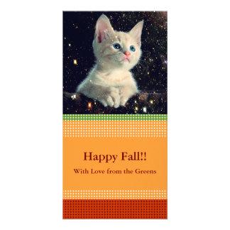 Fall Pattern NO.3:  Customized Photocard Customized Photo Card