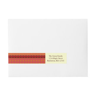 Fall Pattern NO.3: Return Address Labels