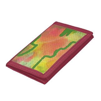 Fall pattern wallet