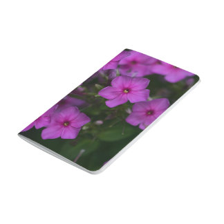 Fall Phlox Pink Wildflower Floral Pocket Journal