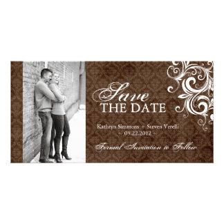 Fall Photo Save The Date Invitation
