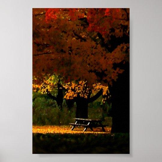 Fall Picnic Poster