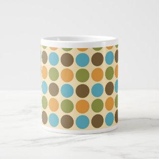 Fall Polka Dots Extra Large Mug